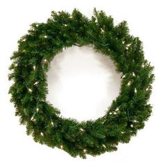 Artificial Christmas Trees - Christmas Lights, Etc Battery Operated Christmas Wreath, Christmas Lights, Christmas Wreaths, Best Artificial Christmas Trees, Pre Lit Wreath, Norway Spruce, White Light, Light Colors, Different Colors