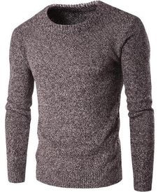 fd60dced2 Sweater Men Brand Pullovers Casual Sweater Male O Collar Solid Simple Slim  Fit Knitting Mens Sweaters