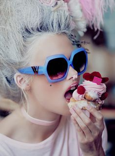 Wildfox eyewear lookbook <3