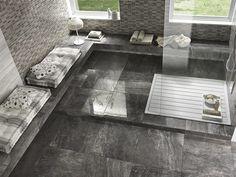 Bodenbelag aus glasiertem Feinsteinzeug mit Marmor-Effekt MARMI IMPERIALI Royal Grey - Impronta Ceramiche by Italgraniti Group