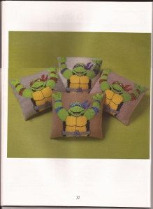Hey, I found this really awesome Etsy listing at https://www.etsy.com/listing/118994700/ninja-turtle-knitted-cushion-knitting
