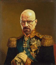 Walter White. Replace face. Según retratos de George Dawe.