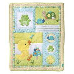 Tiddliwinks- In The Pond **Liam's nursery is incomplete w/o this blanket!!** :(