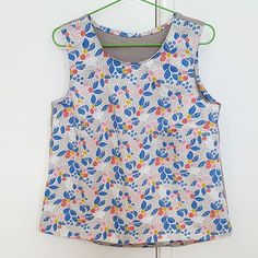 FINISHED! Love the pattern so much, and can't wait to wear it out!!!jillianbardoswillowtank,makemonster,handmade,sewingproject,sewing,grainlinestudio,sewingpattern,diyclothes,cloud9fabric,sewyourown