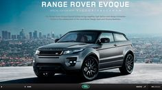 Site of the day 6 May 2012  http://www.landrover.com/victoriabeckham  Range Rover Evoque – Victoria Beckham