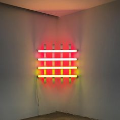 #danflavin in #beirut at the #aishtifoundation #lightingdesigner #design #usa #museum #art #favorite #love #contemporary #artist #minimal #architecture #god #feel  @aishtiworld