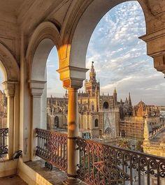 Seville, Spain Places To Travel, Travel Destinations, Places To Visit, Madrid, Sevilla Spain, Andalusia Spain, Voyage Europe, Destination Voyage, Spain And Portugal