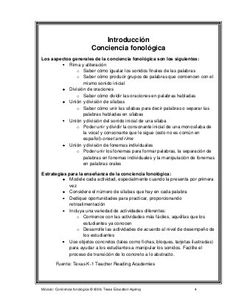 78967515 conciencia-fonologica Sheet Music, Therapy, Language, Bullet Journal, Classroom, Speech Pathology, Alphabet, Word Reading, Read And Write