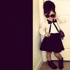 nena niña hermosa moda top beautiful baby girl fashion #baby #girl #fashion #style  #clothes  #kidsstyle #babystyle
