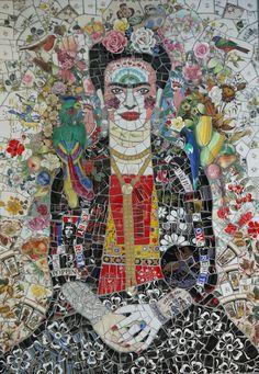 Frida Mosaic ~ Susan Elliott, UK