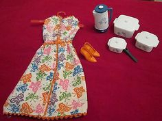 1965 Vintage Barbie Brunch Time #1628