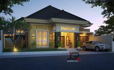 Small House Design, Modern House Design, Modern Bungalow House, My Land, Home Fashion, Beach House, Sweet Home, Exterior, Batik Dress