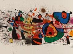 "Joan Miró ""Ceramiques"" colour lithography from 1974   Auctionata"