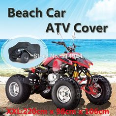 2015 Universal ATV Cover Beach  Motorcycle Car Covers Waterproof  Dustproof Size 220x98x106cm