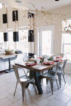 我們看到了。我們是生活@家。: 美國Candice的家,每個角落都有著聖誕裝飾的小細節,優雅美麗!