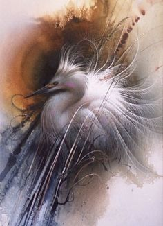Painting by Lee Bogle Watercolor Artists, Watercolor Animals, Beautiful Birds, Animals Beautiful, Native American Artists, Kinds Of Birds, Mountain Art, Realistic Paintings, Japanese Painting