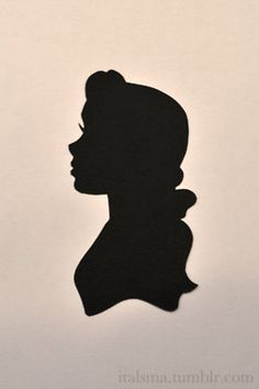 beauty and the beast silhouette Beauty And The Beast Silhouette, Belle Silhouette, Silhouette Art, Disney Princess Silhouette, Disney Diy, Disney Crafts, Disney Love, Disney Magic, Disney Beauty And The Beast