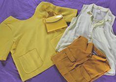 #yellow #outfit #shirt #h&m #suncoo #jaune #kitkatlook