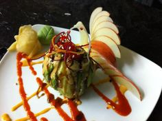 Artistic sushi creation by Gary Wong