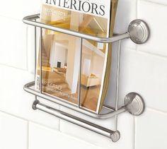 wall mount magazine rack toilet. Master Bathroom Toilet Paper Holder, And Magazine Rack! In Polished Nickel Mercer Rack \u0026 Holder Wall Mount I