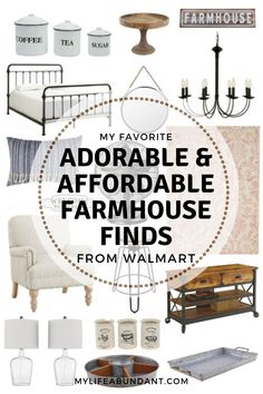 On a budget but want to have the farmhouse look? Check out my picks from Walmart. Ivey Feehan iveyfeehann home decor farmhouse On a budget but want to have the farmhouse look? Check out my picks from Walmart farmhouse decor for adorable and afforda Farmhouse Bedroom Decor, Modern Farmhouse Decor, Farmhouse Design, Rustic Farmhouse, Farmhouse Style, Farmhouse Ideas, Farmhouse Budget, French Farmhouse, Country Style