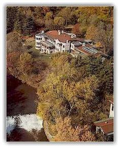 The Fairlane Estate, home of Henry and Clara Ford,  Dearborn, MI.  Had our wedding reception here 35 years ago.