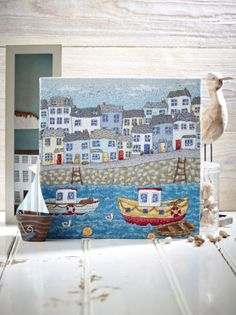 Heavenly harbour: Our Chart of the Month for July 237 comes from Angela Poole, with this Cornwall-inspired stitch on page 31. http://www.myfavouritemagazines.co.uk/stitch-craft/