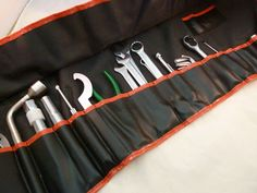 Heyco BMW Tool Kit Travel Tool Kit Roll-up Made in Germany #Heyco