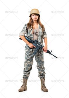 Soldier young beautyful girl dressed in a camouflage with a gun ...  american, army, attractive, automatic, beautiful, beauty, black, brunette, camouflage, clothes, costume, danger, defense, elegance, elegant, fashion, female, fight, girl, graceful, gun, helmet, isolated, khaki, military, model, nato, passion, peace, people, performance, person, pose, posing, pretty, provocative, soldier, style, uniform, urban, war, weapon, white, woman, young