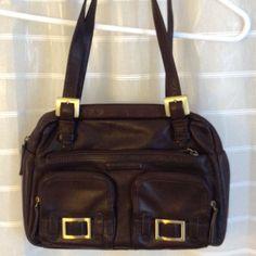 Stone Mountain Leather Handbag