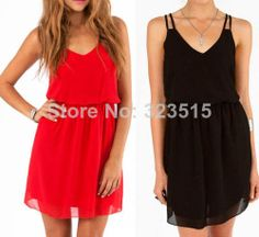 2014 Brand New Fashion Womens Summer Sexy Chiffon Casual Party Evening Short Mini Dress Free Shipping dropshipping