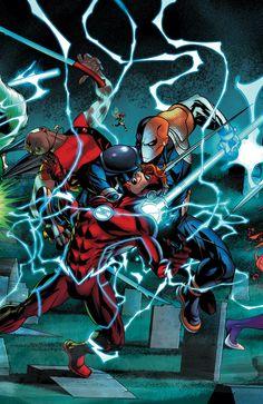 TEEN TITANS #8 - Comic Art Community GALLERY OF COMIC ART