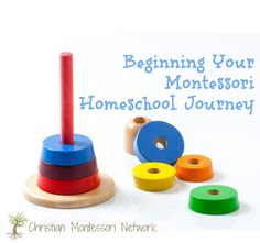 Not sure where or how to begin your montessori homeschool journey? Here are some tips and ideas for getting started.