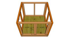 This step by step woodworking project is about insulated dog house plans free. Building a dog house with insulation will protect your pet from cold during the winter. Wood Dog House, Build A Dog House, House Wall, Dog House Plans Insulated, Outside Dog Houses, Woodworking Plans, Woodworking Projects, Rigid Foam Insulation, Wooden Playhouse
