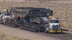 Amazing biggest oversize load truck - world biggest truck in the world -...
