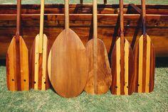 Canoe Paddles by Joe Carini