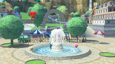Water fountain - Super Smash Bros, Wii U