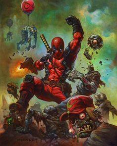 Deadpool - #outlaw #marvel #horley #deadpool by phantom_island