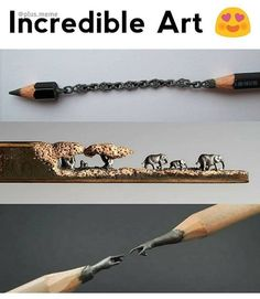 57 ideas for amazing art unbelievable beautiful Creative Photography, Amazing Photography, Art Photography, Pencil Carving, Wow Facts, Arte Disney, Pencil Art, Cool Drawings, Creative Art