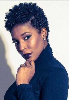 Natural Short Afro Hair for Black Women
