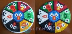 Angry Birds large coaster hama beads by Javi/Alfons05