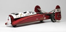 Scale model car, PQ1 Rosso Racer, by Marcel du Long. Pinned by #relicmodels