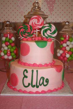 1st bday cake?