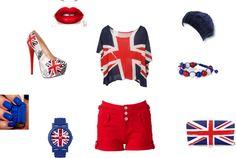"""The Britian Look(;"" by jasminstorey on Polyvore"