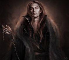 Melkor and Sauron by Kaprriss on DeviantArt Fantasy Male, Fantasy World, Dark Fantasy, Fantasy Places, Tolkien, Character Inspiration, Character Art, Fantasy Inspiration, Vampire Art
