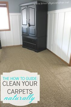 How to clean your carpets naturally -- Ask Anna