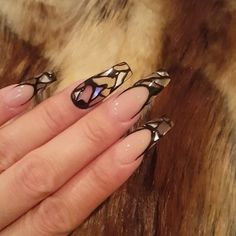 """8,843 Likes, 145 Comments - Tony's Nails (@tonysnail) on Instagram: """"Just love this look #geldesign"""""""