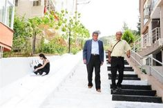İzmir- stairs with piano theme