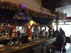The Charlie Chaplin Pub at the Elephant and Castle South East London England on Christmas Eve 2016 Saturday 24th December 2016