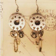 Earrings for the seamstress in your life.